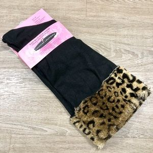 Chinese  laundry leopard boot liners